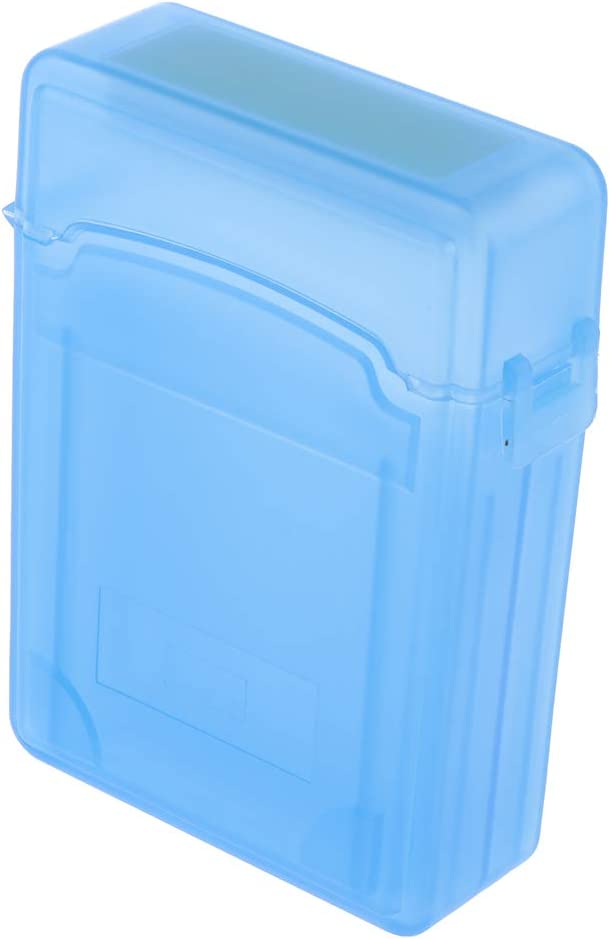 Blue 2.5inches Double-Deck Case Portable IDE//SATA HDD External Protection Boxes//Hard Drive Protective Storage Bags