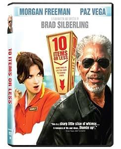 10 Items Or Less [DVD] Morgan Freeman; Paz Vega