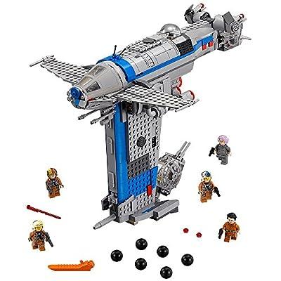 LEGO Star Wars Episode VIII Resistance Bomber 75188 Building Kit (780 Piece): Toys & Games