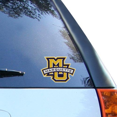 """NCAA Marquette University Multi-Use Colored Decal, 5"""" x 6"""""""