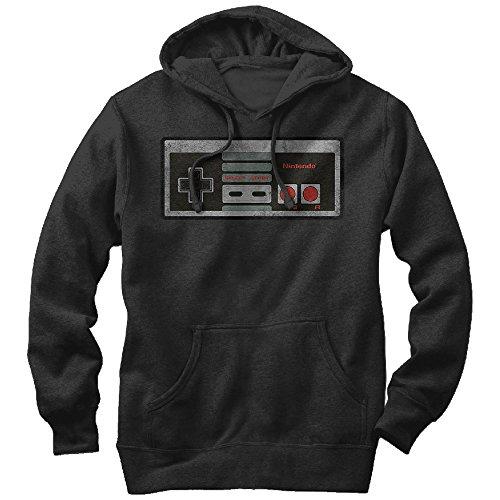 Nintendo Classic NES Controller Mens Graphic Lightweight Hoodie