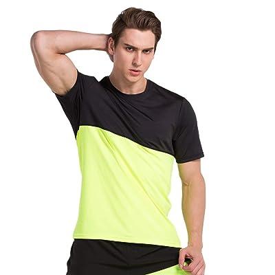 Men's Basketball Short Sleeve T-Shirt Men's Quick Dry Tee Fitness Tops Summer Thin Loose Running Suit
