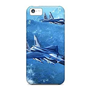 DaMMeke Fashion Protective F-15 Eagle Case Cover For Iphone 5c