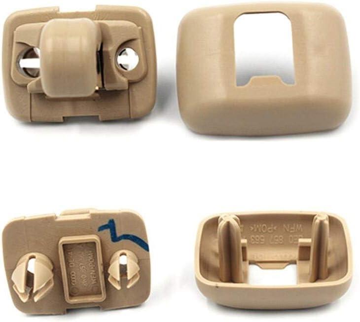 Innensonnenblenden-Clip Haken Halterung Aufh/änger for A1 A3 A4 A5 A6 A7 Q5 Q3 Q7 8U0857562A Autoteile Ersatz Universelles Color : Black