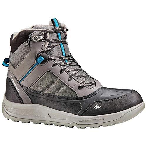 Quechua Men's Grey Hiking Shoes - UK 12