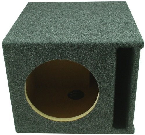 ASC Single 8″ Subwoofer Universal Slot Vented Port Sub Box Speaker Enclosure