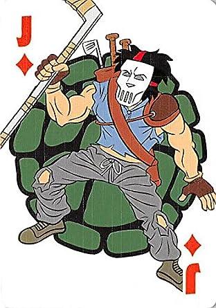 Casey Jones trading playing card Teenage Mutant Ninja ...