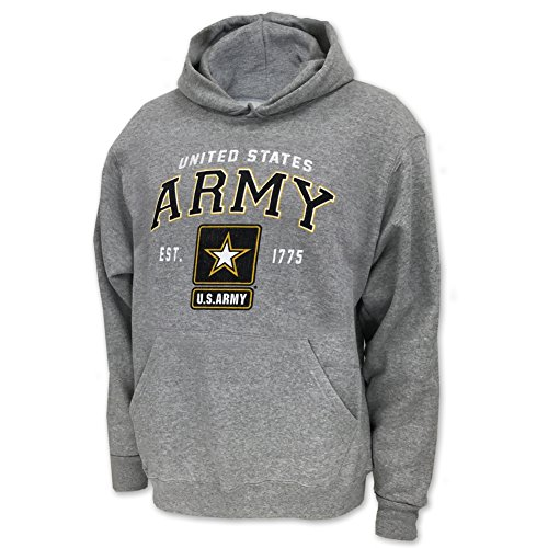 Hood, small, grey (Army Star Sweatshirt)