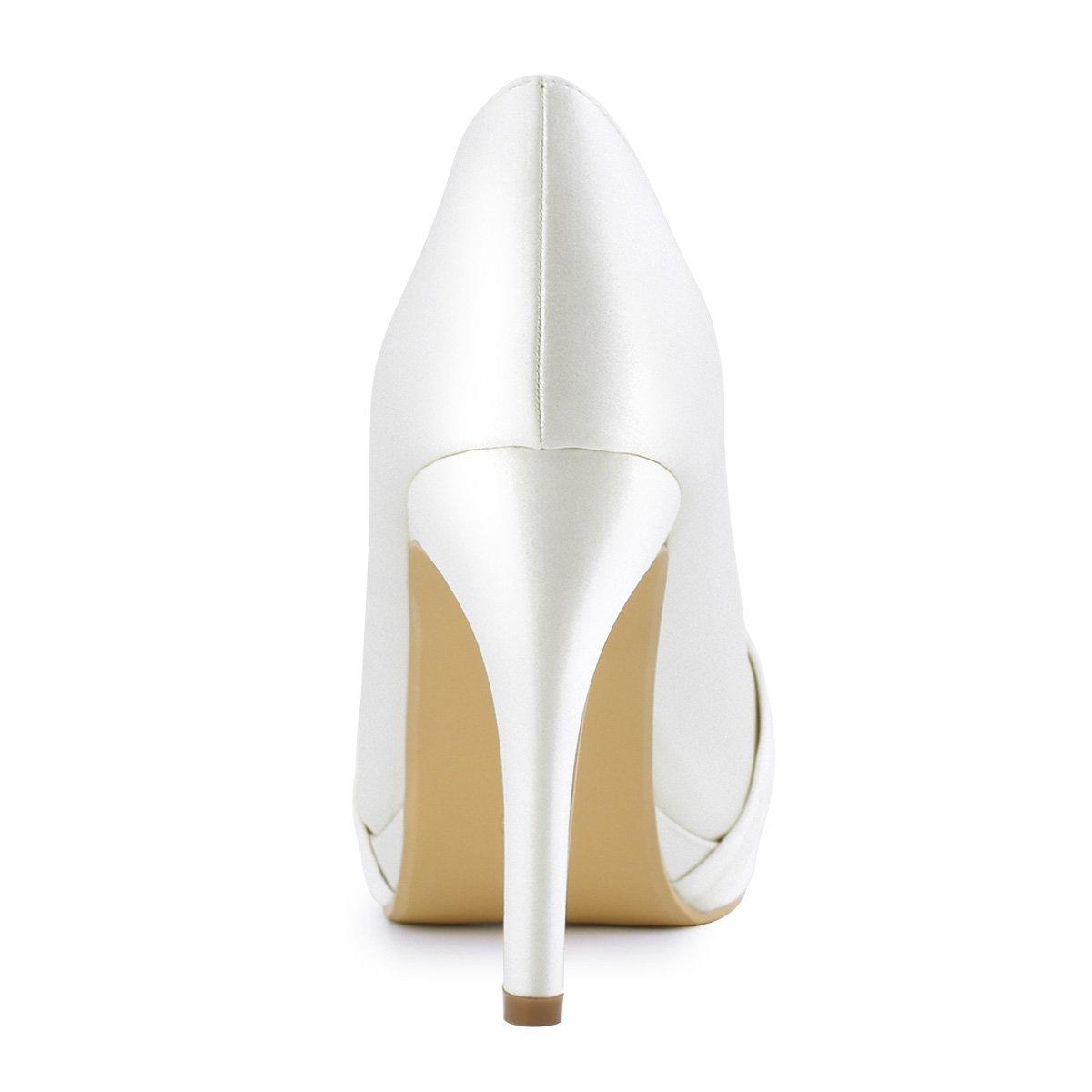Duosheng /& Elegant Scarpe col Tacco Donna