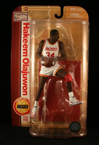 Variant Mcfarlane Toys - McFarlane Toys NBA Sports Picks Legends Series 5 Action Figure Hakeem Olajuwon (Houston Rockets) White Jersey Variant