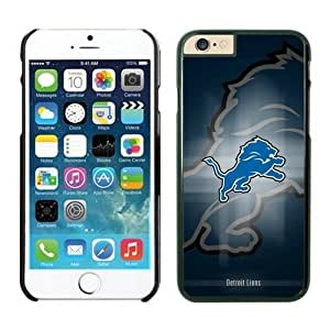 NFL Detroit Lions iphone 6 Cases Black 4.7 inchescell phone cases Gift Holiday Christmas GiftsTLWK934465