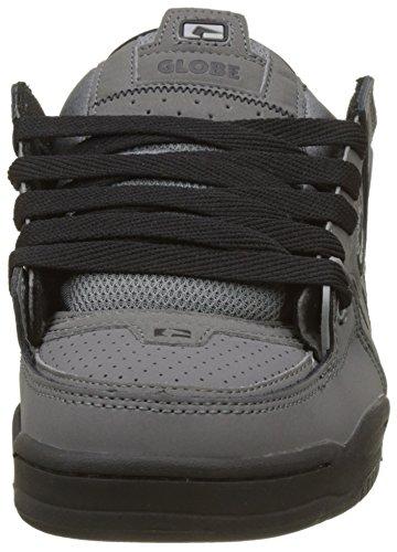 Fusion Unisex Knit Adults' Globe Skateboarding 15219 Shoes Charcoal Grey Grey dfEqZOZa