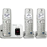 Panasonic Link2cell Kx. Tge263s Dect 6.0 1.90 Ghz Cordless Phone . Silver . Cordless . 1 X Phone Line . 2 X Handset . Speakerphone . Answering Machine . Caller Id . Yes . Backlight Product Type: Phones/Analog & Digital Phones