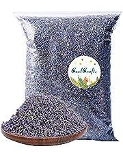 CoolCrafts Dried Lavender Flowers, Dry Lavender Buds Bulk Wholesale Fragrant Lavender for Wedding Toss, Crafts, Sachets