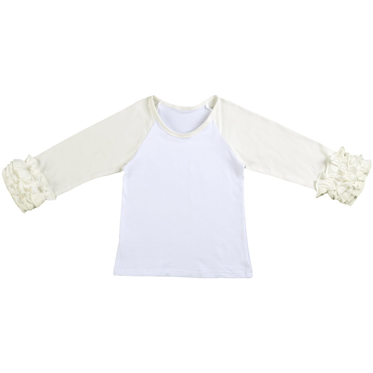 Baby Accessories New Cute Baby Kids Girls Top Cotton Long Sleeved Glittery Party Casual Tops