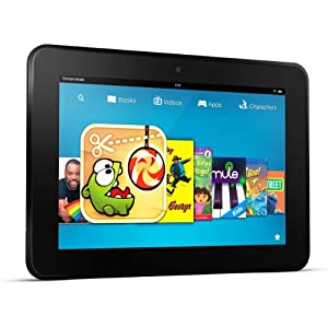 "Kindle Fire HD 8.9"" 4G LTE Wireless, Dolby Audio, Dual-Band Wi-Fi, 64 GB (Previous Generation - 2nd)"
