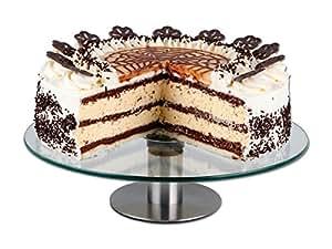 CHG 3343-00 - Plato para tartas con base giratoria (diámetro de 30 cm, altura de 7 cm)