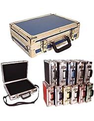 Briefcase ATA Style - Mini Size - Id 14 X 10 X 3 3/4 High - Color Blue