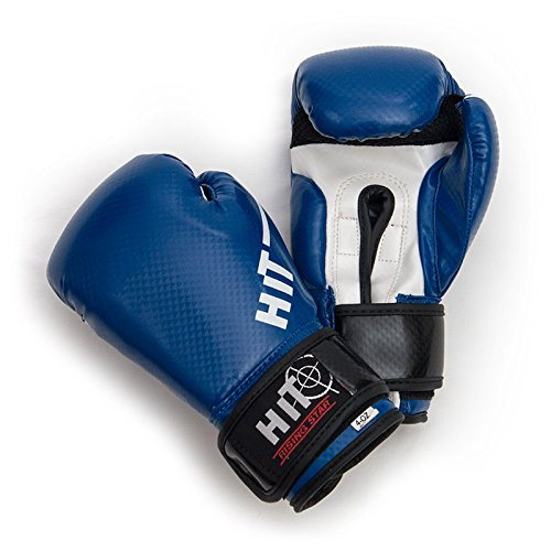 HiT Boxing Gloves Rising Star Blue 8oz. HiT is an Official Sponsor of Many UFC Fighters and Pro Boxing Champions Jukado