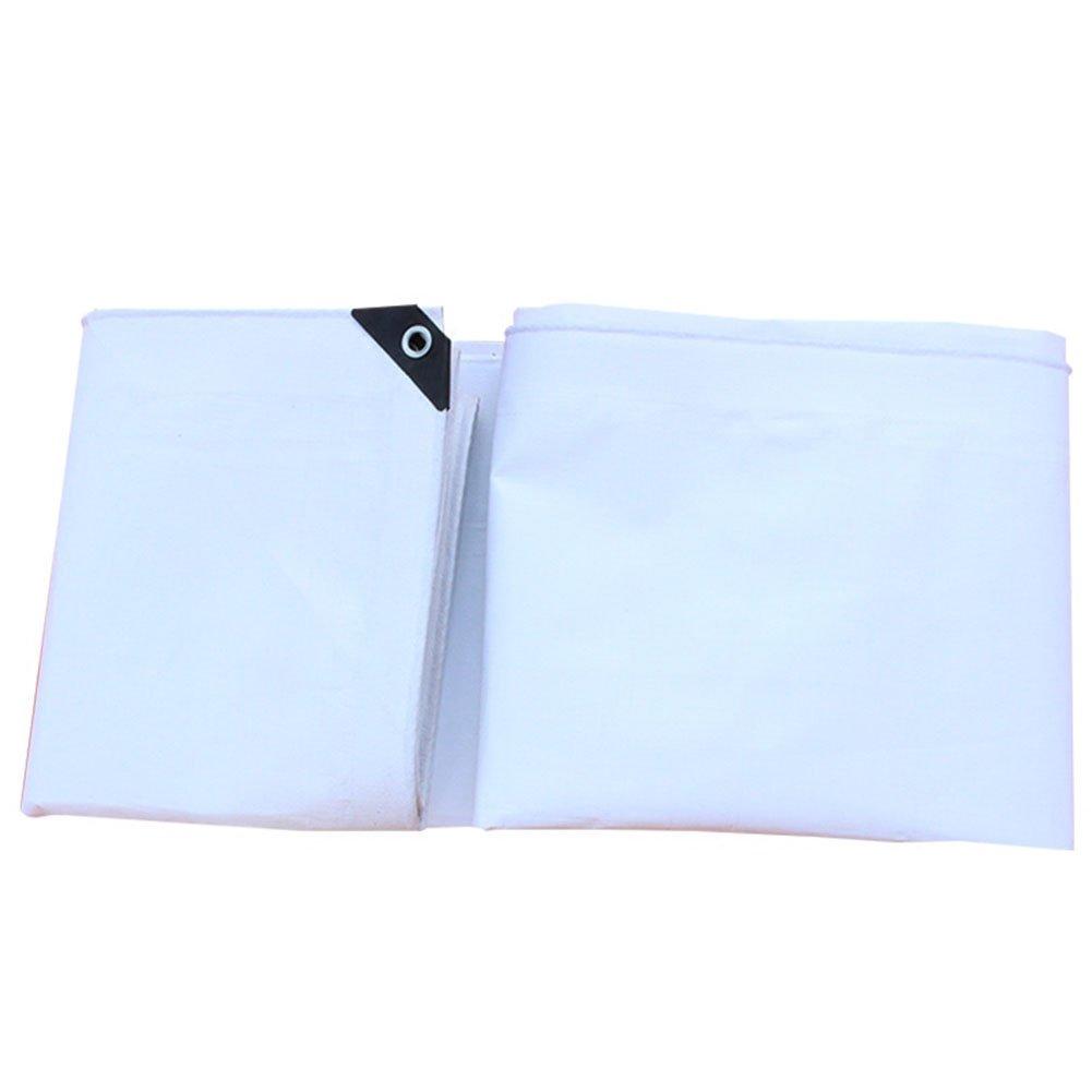 Hyzb Wasserdichte Plane, Camping, Angeln Spezielle Outdoor Cover Tuch, weiß, eine Vielzahl von Größen verfügbar-0,31 mm (größe   7x9m)