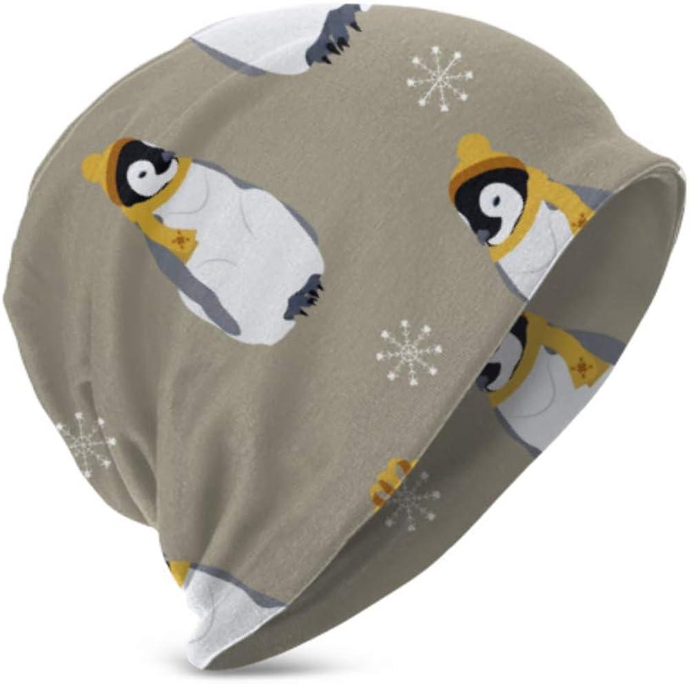 Berretti Unisex Berretti Caldi e accoglienti Pinguini Regali Nuovi Berretti di Moda per Bambini 3D Adatto a Bambini di et/à Compresa tra 3 e 15 Anni