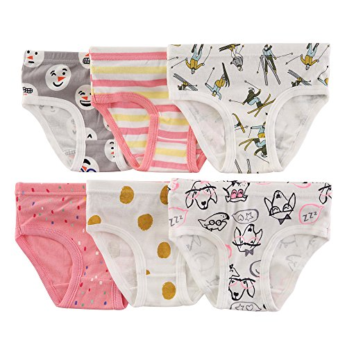 The Kite Toddler Girls Panties Cotton 6-Pack 5t 6 by The Kite (Image #2)