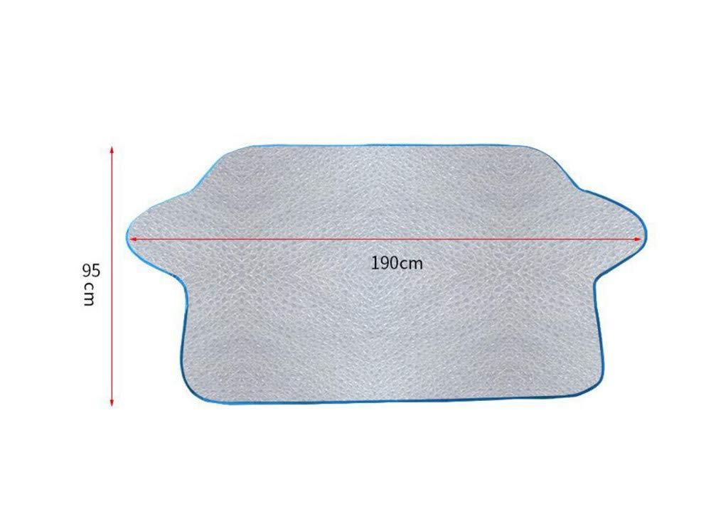 General 95 cm Bloqueador solar para autom/óvil//bloque frontal de lichi//parasol//protector solar para autom/óvil//bloque de nieve para espesamiento aislante//bloqueador solar de pel/ícula aluminizada 190