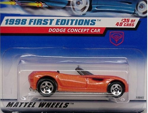 1998 First Editions -#35 Dodge Concept Car Malaysia #672