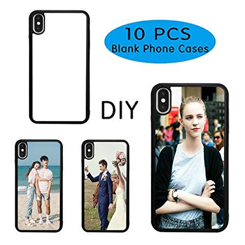 10PCS Sublimation Blanks Phone Case Covers for iPhone X iPhone Xs, 5 8  Inch  Sublimation Blanks Printable Phone Case DIY