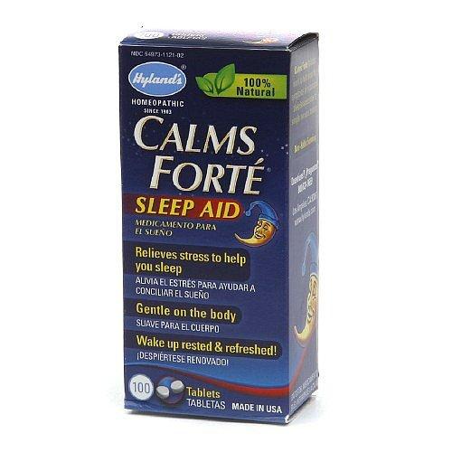 Hyland's Calms Forte Sleep Aid - 100 - Sleep Forte Calms Aid Tablets