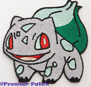 Cosplay Vulpix Costume (Bulbasaur Embroidered Iron/Sew on Patch - 3