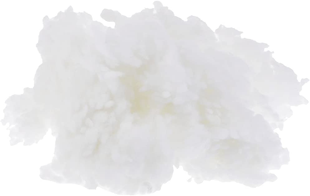 Polyester Fiberfill Stuffing Cotton Filling for Toy Quilts Pillow Craft 100g