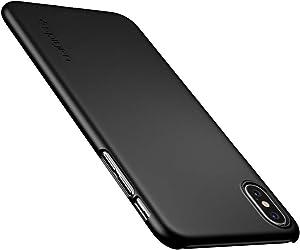 Spigen Funda Thin Fit Compatible con iPhone XS MAX - Negro