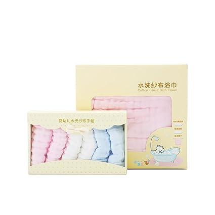 YX SHOP® Toalla De Baño Para Bebé 95cm + Pañuelo Recién Nacido 25cm Juego De