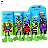 Recoproqfje Colorful Kids Baby Soft Cloth Book Night Story Educational Early Learning Toy - 7#