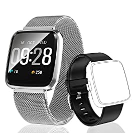 HuaWise Fitness Tracker,Activity Tracker with Heart Rate Mon...