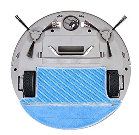 Robot Aspirador Inteligente Delta Inspire. Con Control Remoto y Base de Carga Robotizada. Rutinas: Barre, Aspira, Mopea y Friega Suelos.
