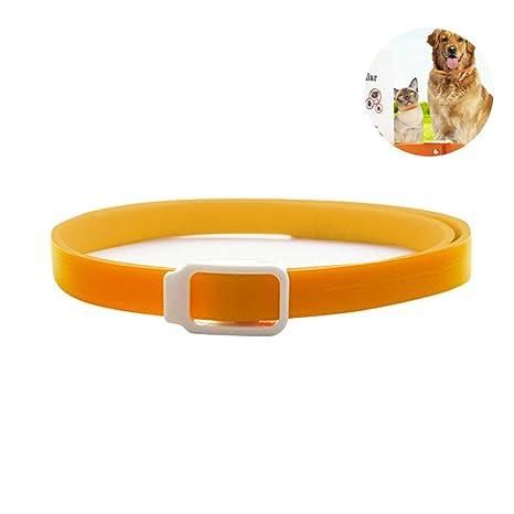 Aolvo Collar de pulgas para perros/gatos, collar repelente de hierbas natural – 3
