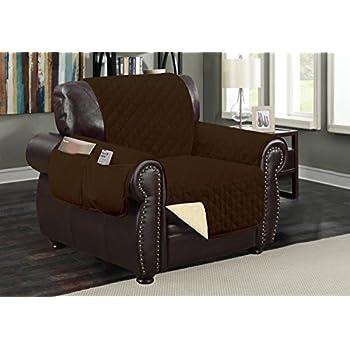 Amazon Com Sofa Guard Deluxe Reversible Chair Furniture