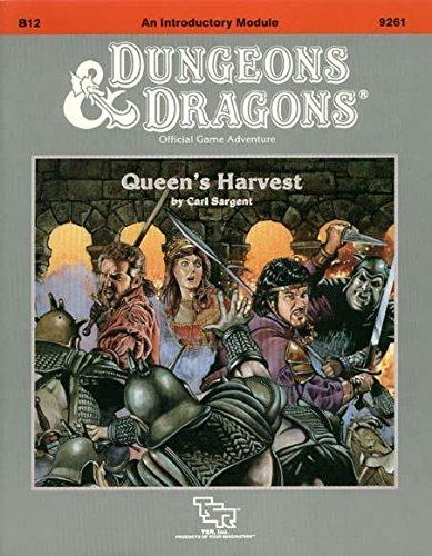 Queen's Harvest (Dungeons & Dragons Module B12) (Module Game)