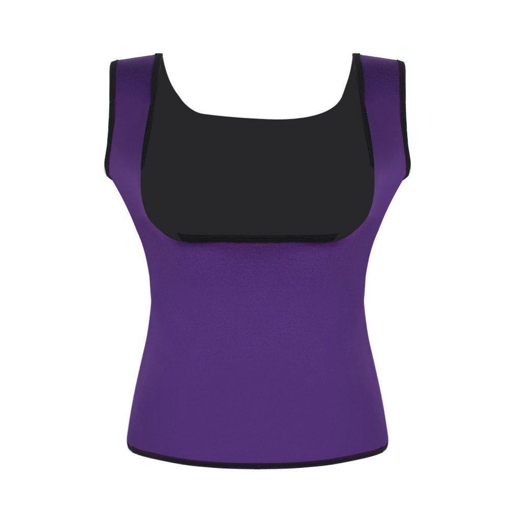 37feae1813 MISS MOLY Women Waist Trimmer Cincher Vest Sauna Suits Shapewear Top  Hourglass Shaper Fat Burner Belts Yoga Sport Underbust Corset LYZ