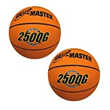 Set of 2-8-3/4'' Junior Basketballs for Hoop Shot Basketball Arcade Games