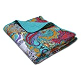 Greenland Home Nirvana Quilted Throw
