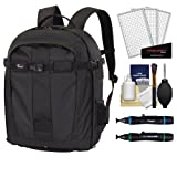 Lowepro Pro Runner 300 AW Digital SLR Camera Backpack Case (Black) + Accessory Kit