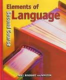Holt Elements of Language: Student Edition Grade 8 2001