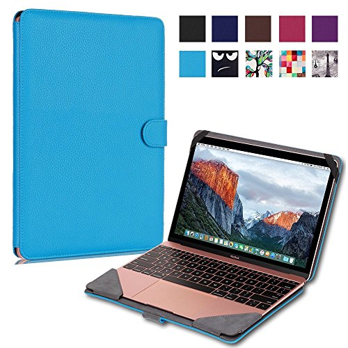 WITCASE-New-Macbook-Retina-12-Case-Premium-PU-Leather-Protective-Book-Cover-For-Apple-The-New-Macbook-12-With-Retina-Display-A1534-2015-Release-sky-blue