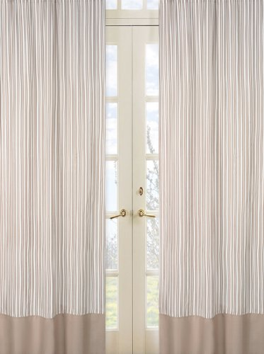 Giraffe Window Treatment Panels - Set of 2