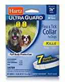 Hartz UltraGuard Flea & Tick Collar for Dogs and Puppies - 26' Neck, 7 Month Protection