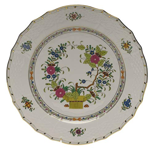 Herend Indian Basket Porcelain Service Plate