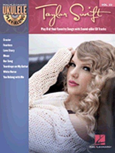 Hal Leonard Taylor Swift Ukulele Play-Along Vol 23 Book/CD